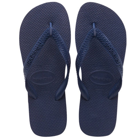 havaianas top navy blue slippers