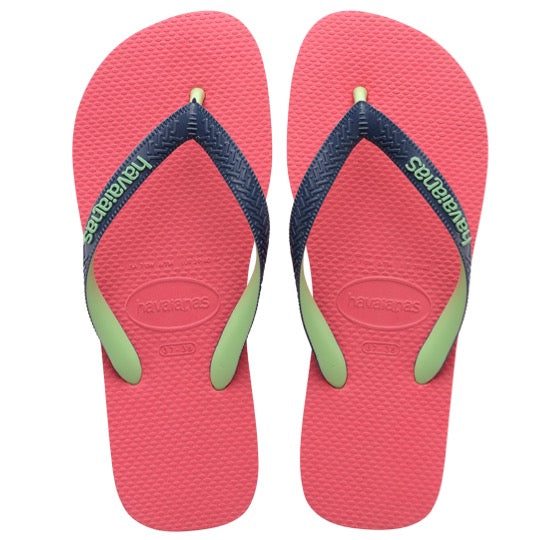 havaianas top mix pink dames slippers