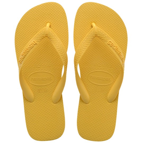Havaianas top gold yellow gele slippers