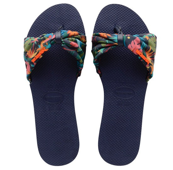 havaianas you saint tropez navy blue dames slippers