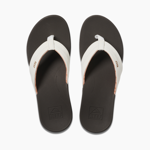 Reef Ortho-Bounce Coast brown white