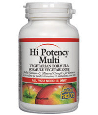 Natural Factors Hi Potency Multi 90 Tablets