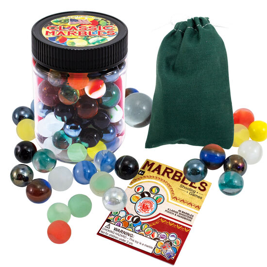 Marbles Toy Jar