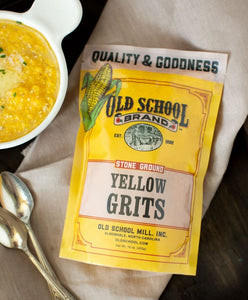 Stone Ground Yellow Grits 1 lb