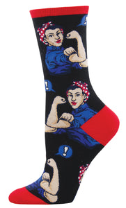 Rosie Riveter Socks