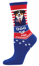 Load image into Gallery viewer, Dog For President Socks