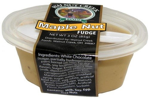 Maple Nut Fudge Cup