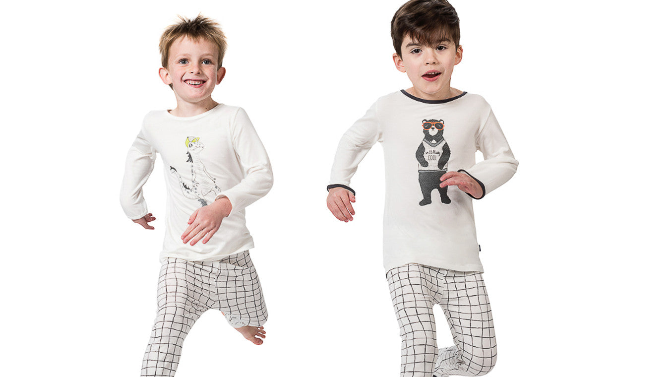 Bamboo pyjamas for boys