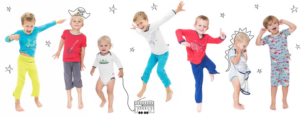 Bamboo loungewear and sleepwear for boys