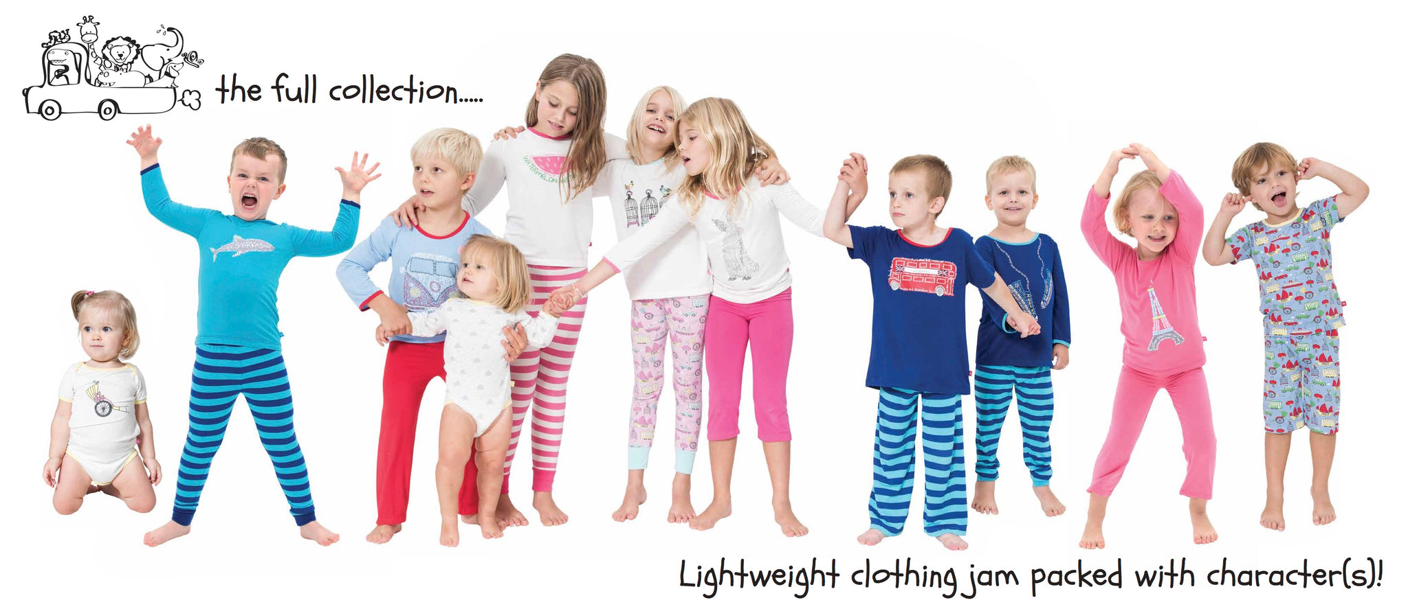 Snug-a-licious bamboo loungewear for kids