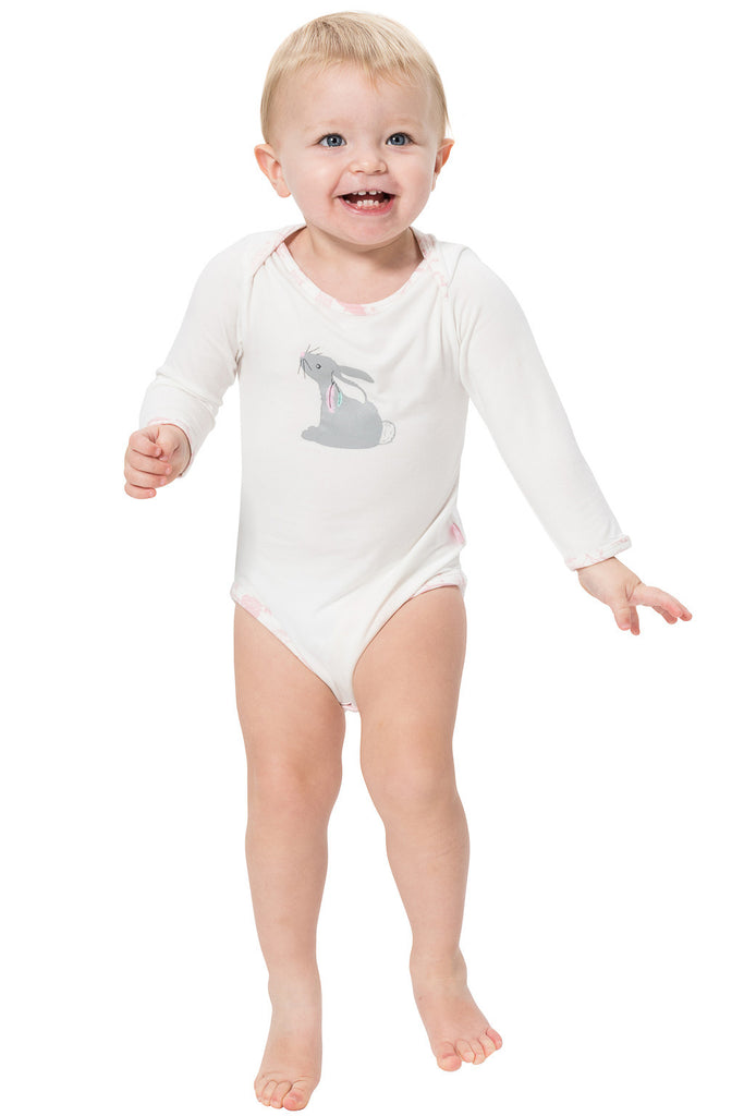 Soft as a cloud bamboo onesie