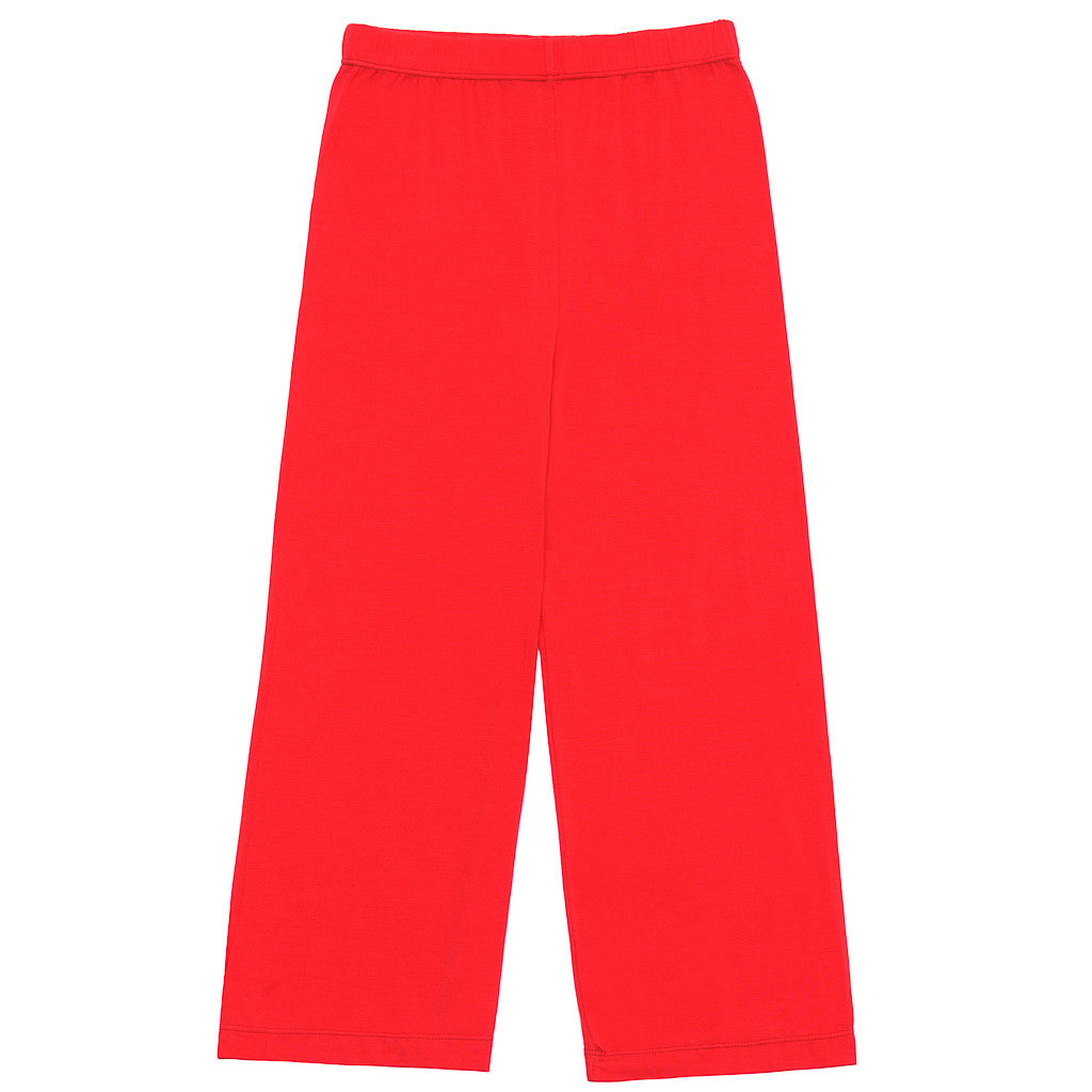 Bamboo yoga Pants - Red - SNUGALICIOUS BAMBOO