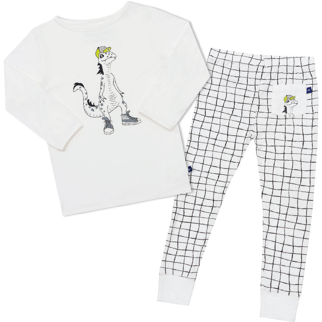 Lounge lizard pyjamas in soft bamboo by Snug-a-licious