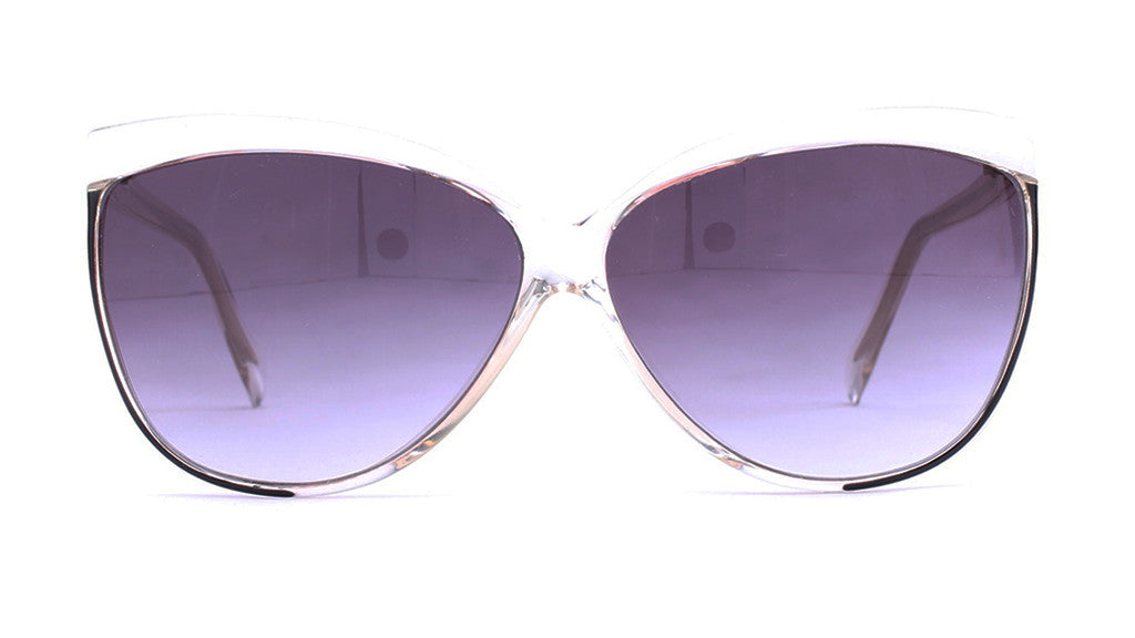 Piave 268 Crystal/White Sunglasses