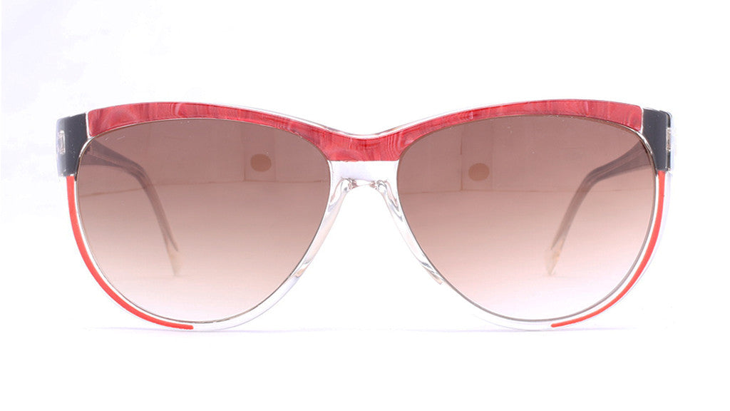 Piave 294 Red/Black Sunglasses