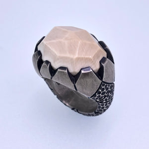 Mammoth Tusk ring