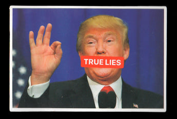 006 Donald Trump Spreading True Lies Sticker - Anti Trump Stickers