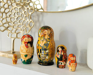 Nesting dolls and Periods of Western art history