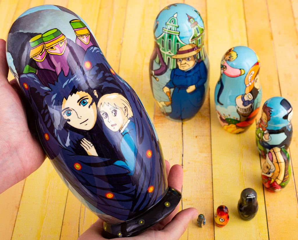 Howls moving castle nesting dolls