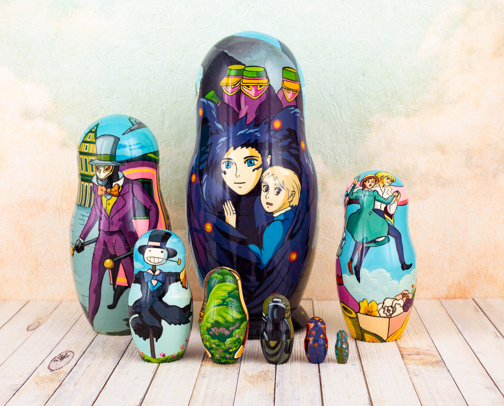 howls moving castle russian doll