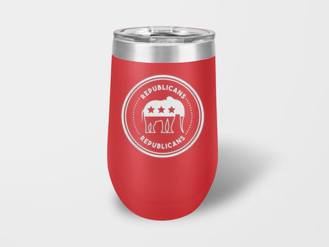 Republican Wine Cup - Handmade in Harrisburg