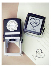 Load image into Gallery viewer, Custom Name Stamp - Personalized Stamp - DIY Stationary - From the Desk Of - Wedding Gift - Mother's Day Gift -  Ready to Ship Gift for Her - Handmade in Harrisburg