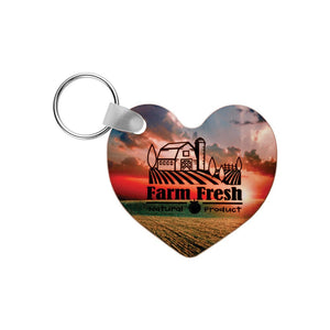 Personalized Photo Keychain, Custom Photo Keychain, Real Estate Closing Gift, Promotional Keychain for Realtors, Metal Keychain, Key Chain - Handmade in Harrisburg