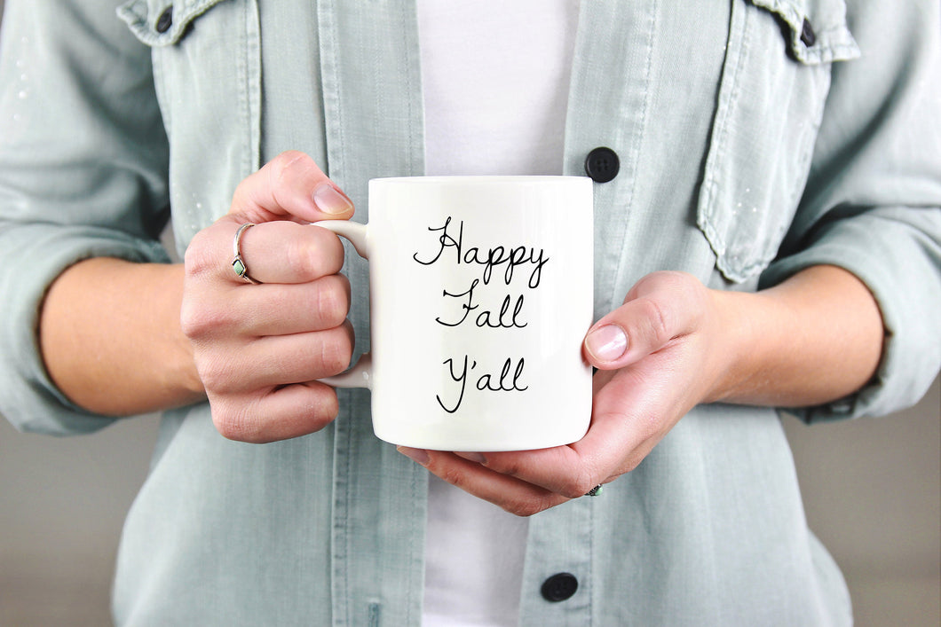 Happy Fall Y'all - Handmade in Harrisburg