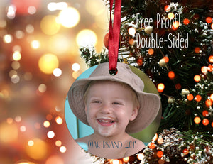 Photo Ornament, Personalized Photo Ornament, Christmas Ornament, Custom Ornament, Design your Own Ornament, Personalized Photo Ornaments - Handmade in Harrisburg