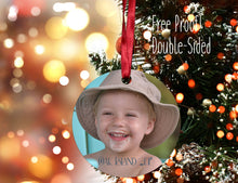 Load image into Gallery viewer, Photo Ornament, Personalized Photo Ornament, Christmas Ornament, Custom Ornament, Design your Own Ornament, Personalized Photo Ornaments - Handmade in Harrisburg