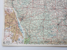 Load image into Gallery viewer, Vintage Map of the Detroit and Chicago 1963 - Handmade in Harrisburg
