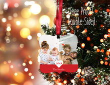 Load image into Gallery viewer, Annual Photo Christmas Ornament, Personalized Photo Christmas Ornament, Custom Ornament, Design your Own Ornament, Photo Ornament - Handmade in Harrisburg