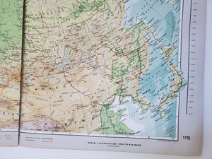Vintage Map of the USSR 1963 - Handmade in Harrisburg