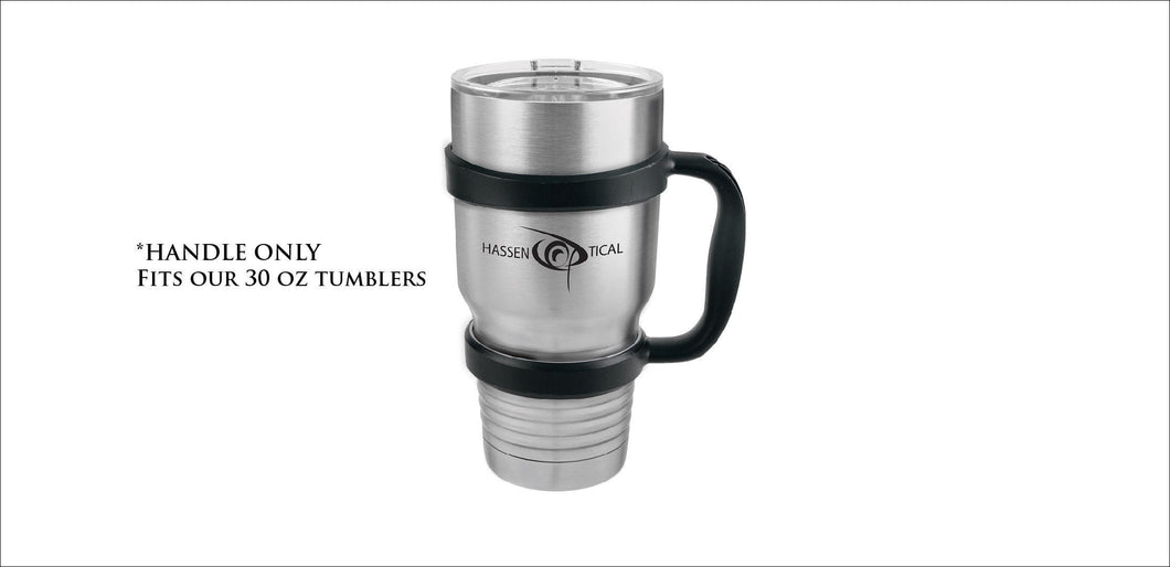 30 oz Insulated Tumbler Handle Accessory - Handmade in Harrisburg