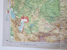 Load image into Gallery viewer, Vintage Map of the USSR 1963 - Handmade in Harrisburg