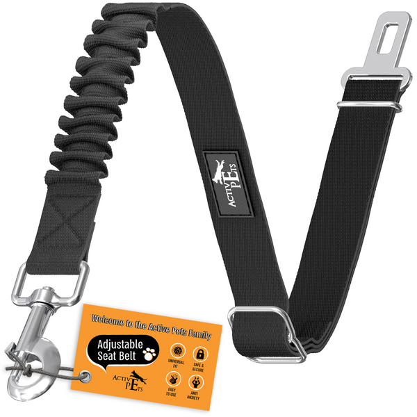 Adjustable Dog Seatbelt - Active Pets