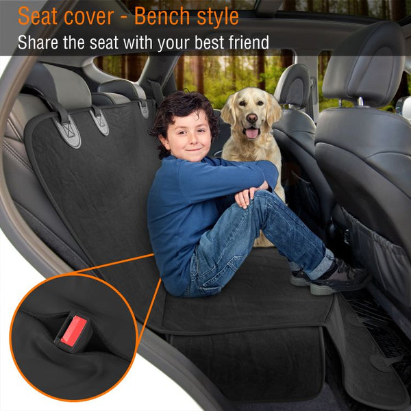 Waterproof Back Seat Cover - Active Pets