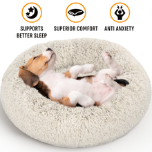Load image into Gallery viewer, Dog Donuts Bed - Active Pets | Car Dog Seat Cover | Dog Leash | Dog Collar
