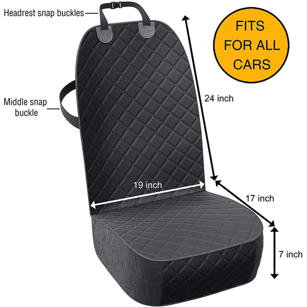 Front Seat Cover - Active Pets