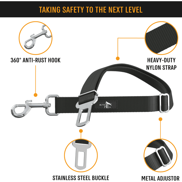 Universal Dog Seatbelt - Active Pets