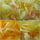 10 x 1 Metre Bundle of Mixed Ribbon-Gift Wrapping,Bows,Crafts,Scrapbooking,Trim