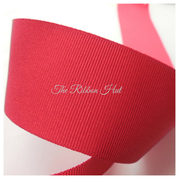 Purples & Red Solid Grosgrain Ribbons by Berisfords 5 Colours 5Widths Free P & P