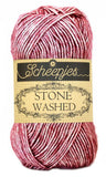 Soft Yarn - Scheepjes Stone Washed , Knitting or Crochet, 4ply 50g