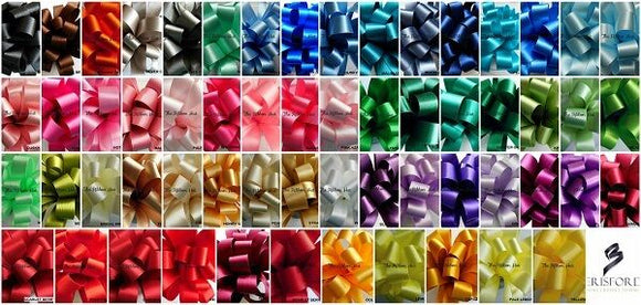 82 Shades ~70mm Berisfords Double Sided Satin Ribbon-Per Metre-Wedding Ribbon,Sashes Ribbon