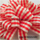 Rustic Gingham Ribbon-1/3/5Mtrs-Check/Plaid Ribbon-Crafts,Trim