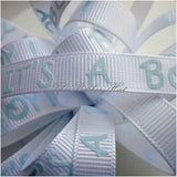 Baby Ribbons-10/15/16mm-Grosgrain/Organza Ribbons-Baby Designs-2 Metres