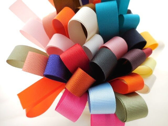 10 X 1 Metre Grosgrain Ribbon Bundle/Pack - 15/16mm Ribbon- Crafts,Trim