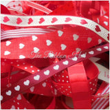 Mixed Ribbon Off Cut Ribbon Bundles-10 x 1 Mtrs- 10 Shades to choose from