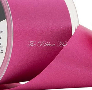 Berisfords WIDE PINKS Double Satin Ribbon-35mm/50mm/70mm-20 Metres-Wedding