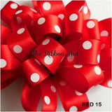 Polka/Spotty/Dotty  Ribbon by Berisfords-15mm- 2 Metres- Crafts